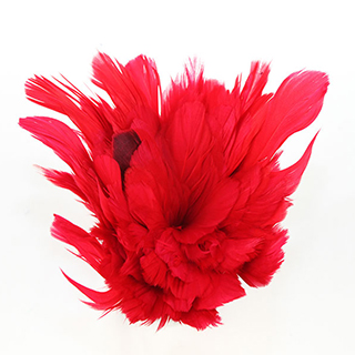 Feather String Red 6-7