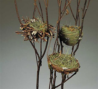 Nest on Branch Assorted