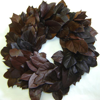 Wreath Salal  Brown 21-22  Preserved
