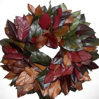 Wreath Salal Mixed Colors 21-22